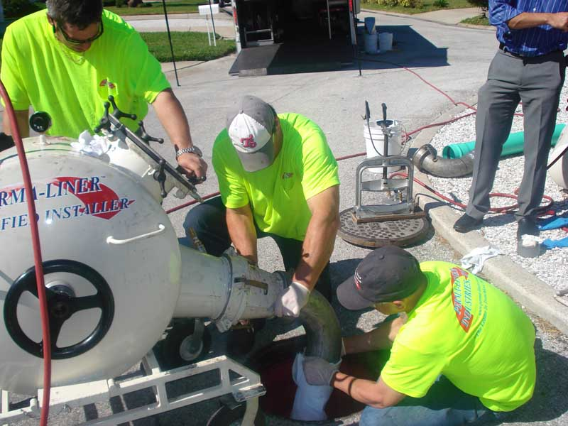 Broken Sewer Pipe Houston Houston Perma-Lateral Lining Systems